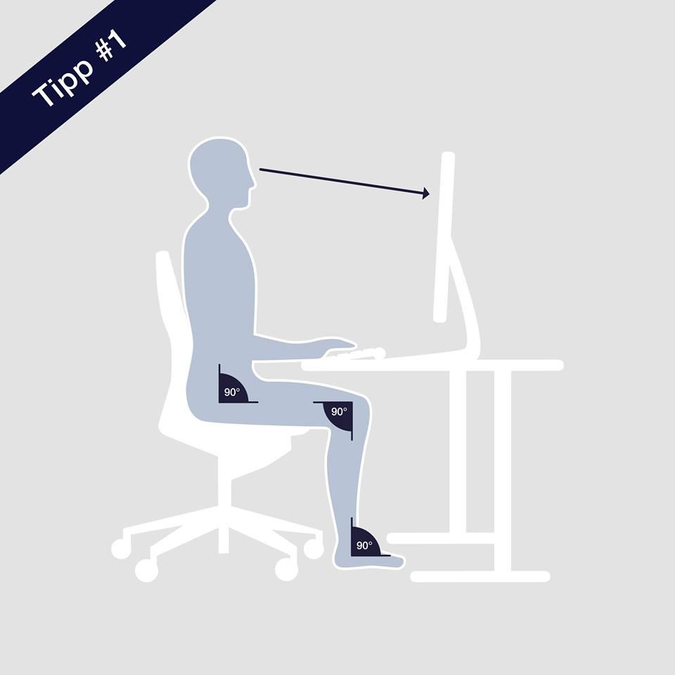 Ergonomie übungen Fürs Büro Zauner Bürobedarf Bad Tölz