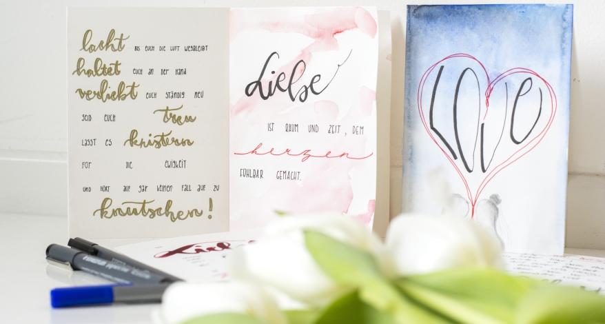 Hochzeitskarten Schöne Sprüche Und Tolle Gestaltung News